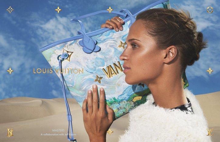 Аксессуары Louis Vuitton с принтами шедевров живописи фото №18