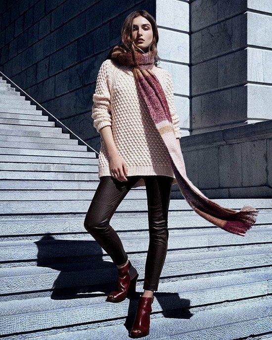 Андреа Диакону в зимнем лукбуке H фото №3