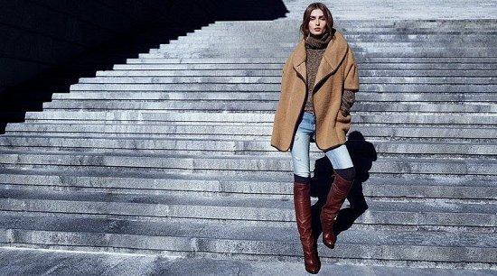 Андреа Диакону в зимнем лукбуке H фото №6