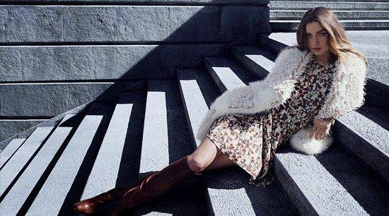 Андреа Диакону в зимнем лукбуке H фото №8