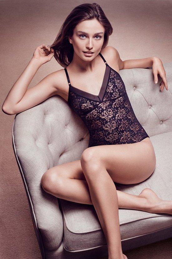 Андреа Дьякону в рекламе нижнего белья Lindex осень-зима 2015-2016 фото №5