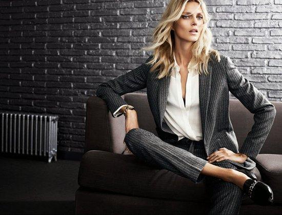 Аня Рубик в рекламной кампании Massimo Dutti осень-зима 2014-2015 фото №7