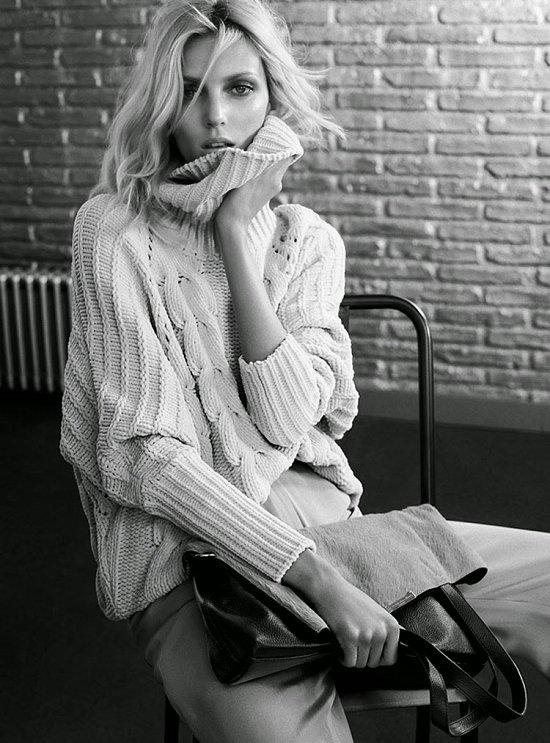 Аня Рубик в рекламной кампании Massimo Dutti осень-зима 2014-2015 фото №4