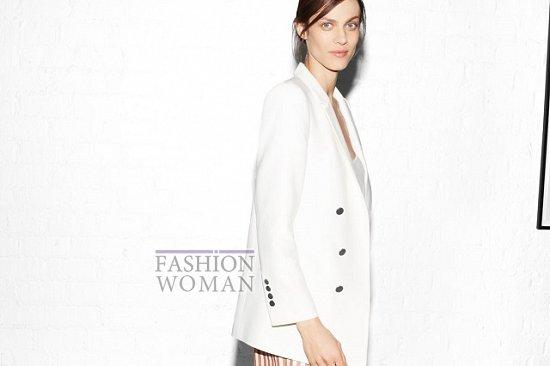 белый пиджак Zara