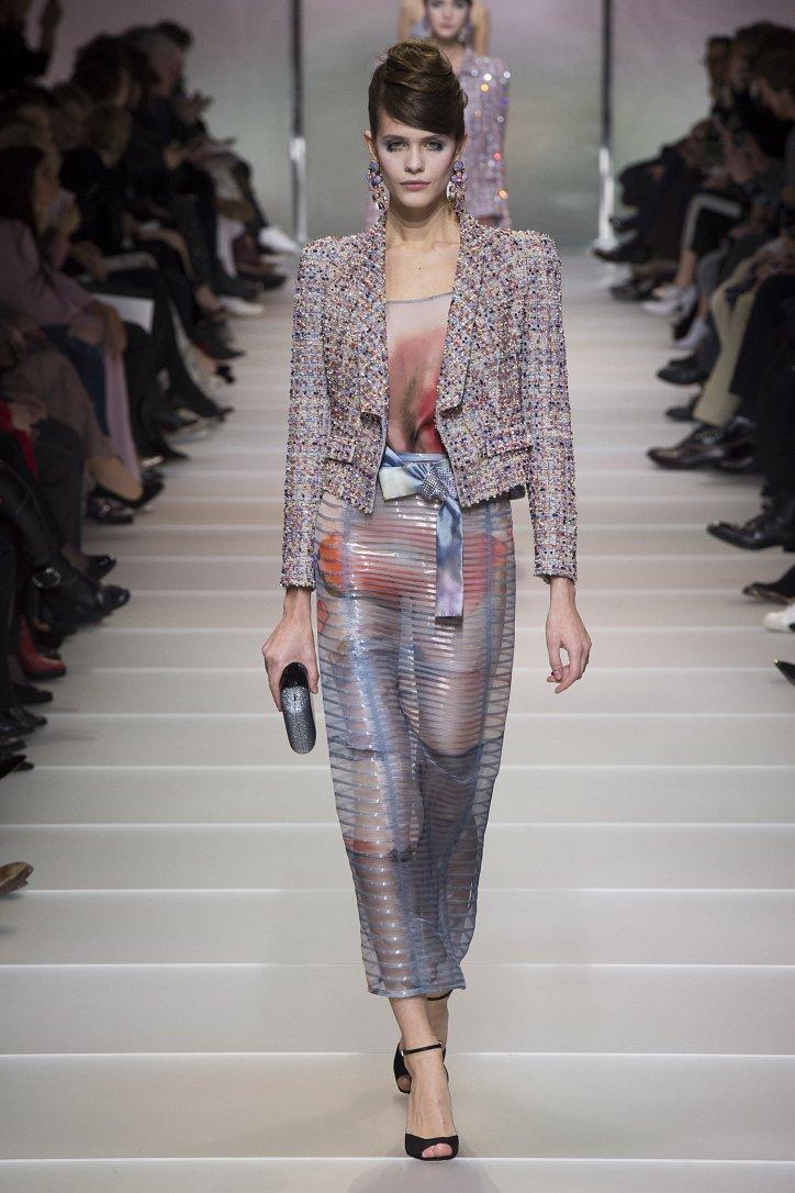 Armani Privé Haute Couture весна-лето 2018 фото №48