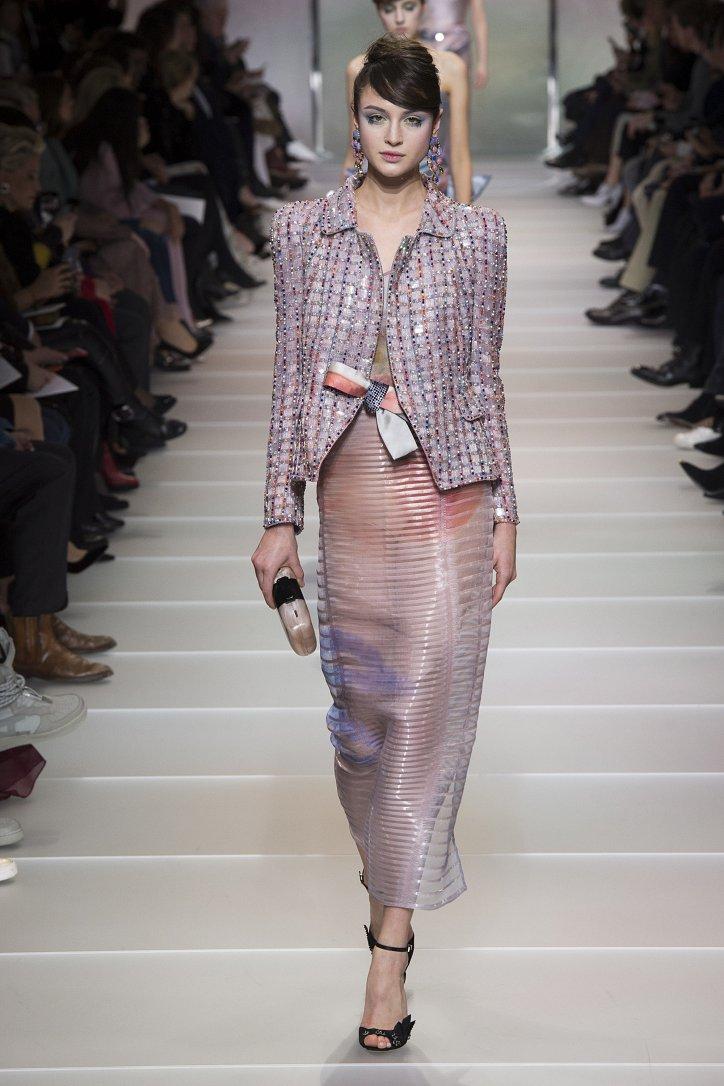 Armani Privé Haute Couture весна-лето 2018 фото №49