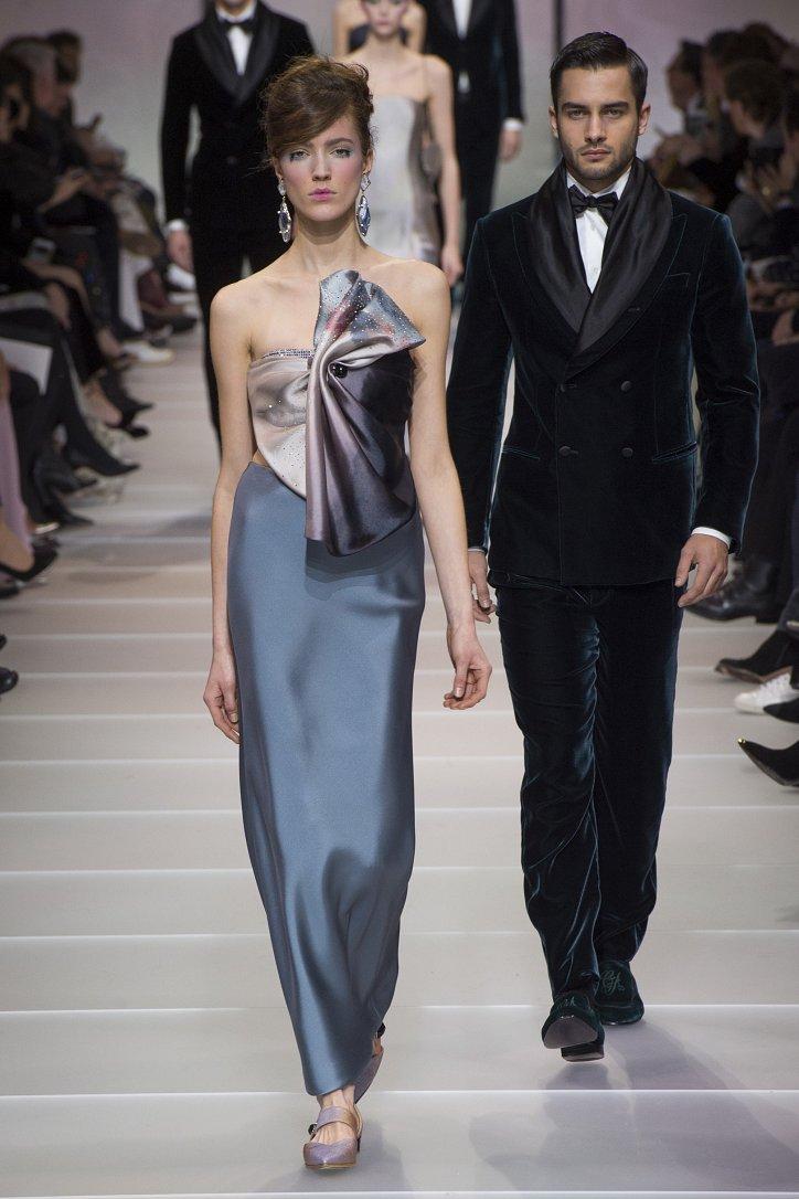 Armani Privé Haute Couture весна-лето 2018 фото №57
