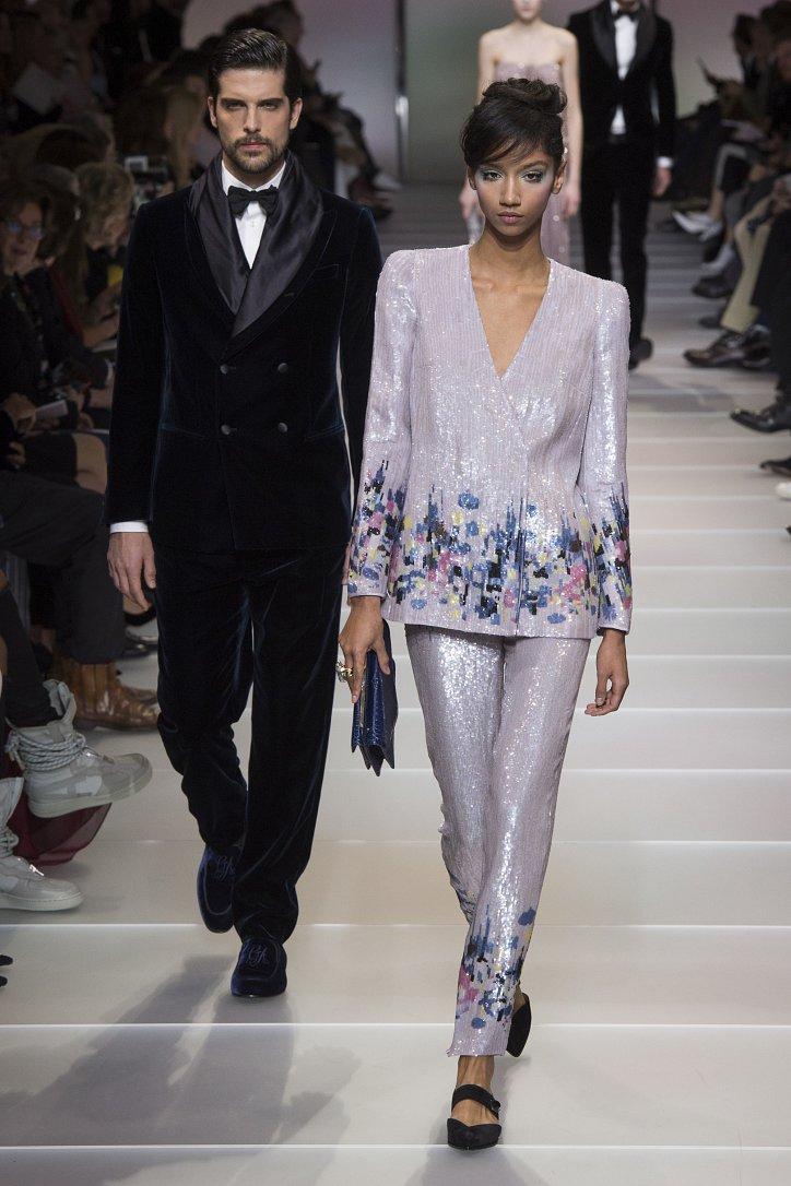 Armani Privé Haute Couture весна-лето 2018 фото №60