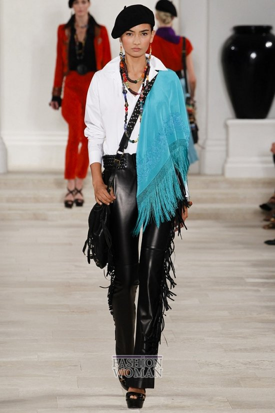 Бахрома - модный тренд сезона весна-лето 2013 фото №3