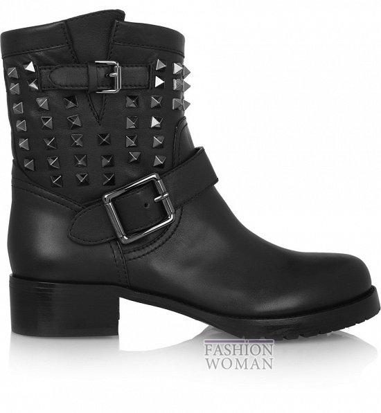 Ботинки в мужском стиле - модный тренд осени фото №3