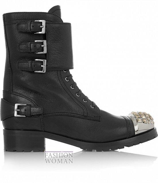Ботинки в мужском стиле - модный тренд осени фото №6