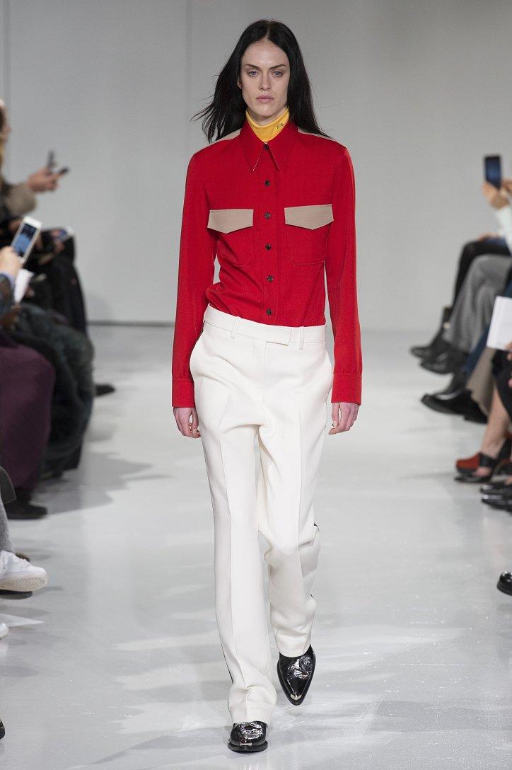 Calvin Klein Collection осень-зима 2017-2018 фото №3