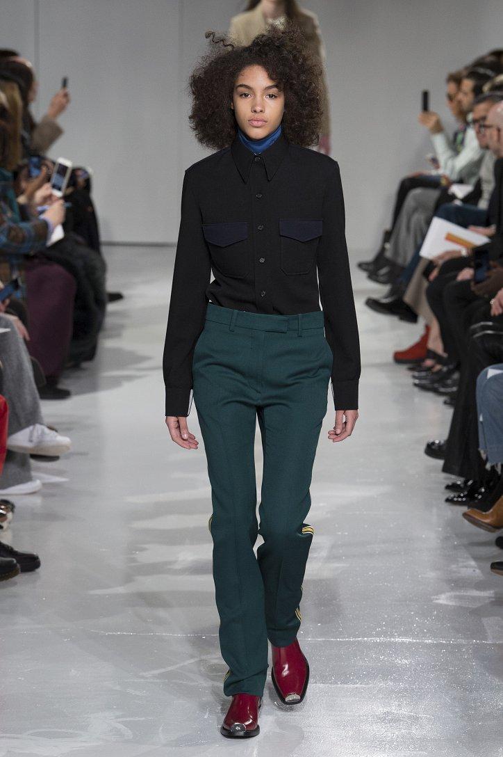 Calvin Klein Collection осень-зима 2017-2018 фото №4