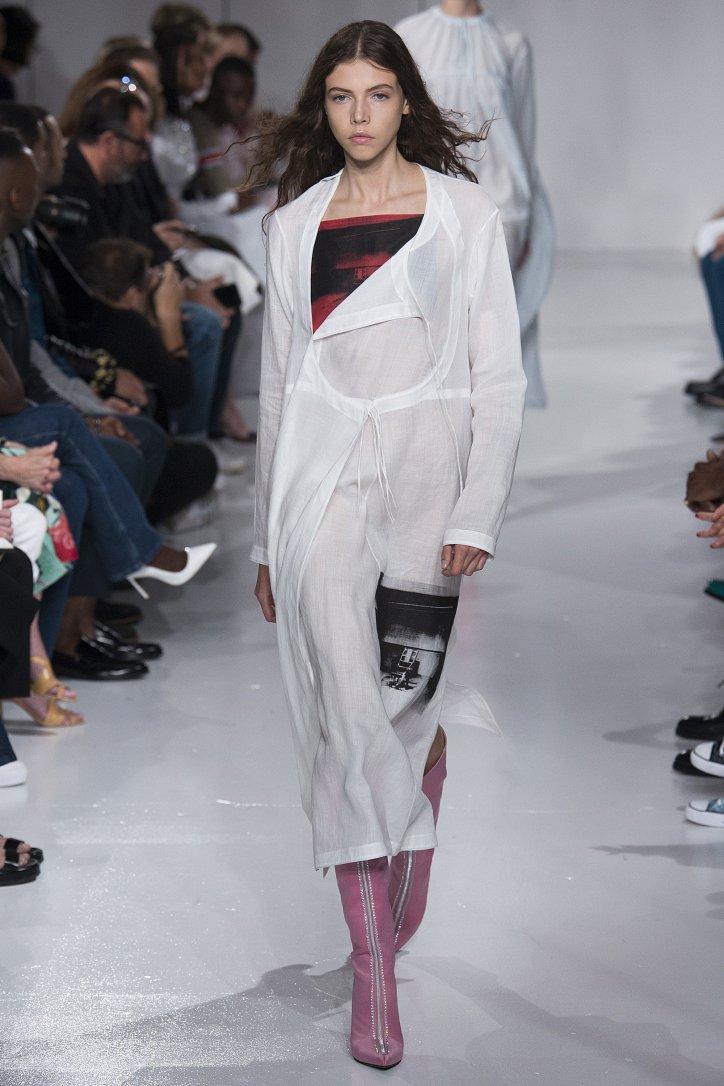 Calvin Klein весна-лето 2018 фото №13