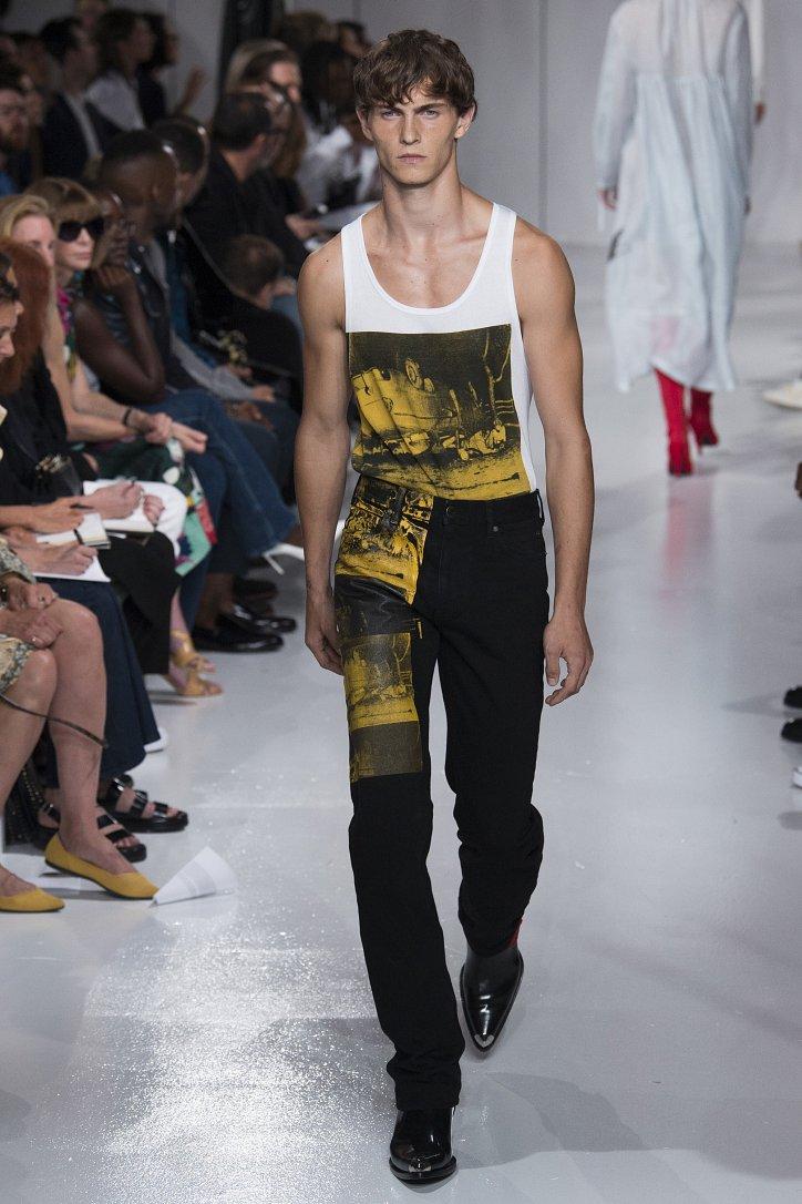 Calvin Klein весна-лето 2018 фото №21