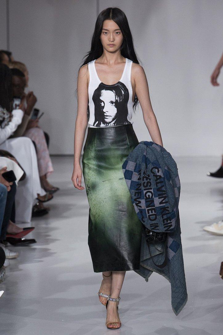 Calvin Klein весна-лето 2018 фото №23