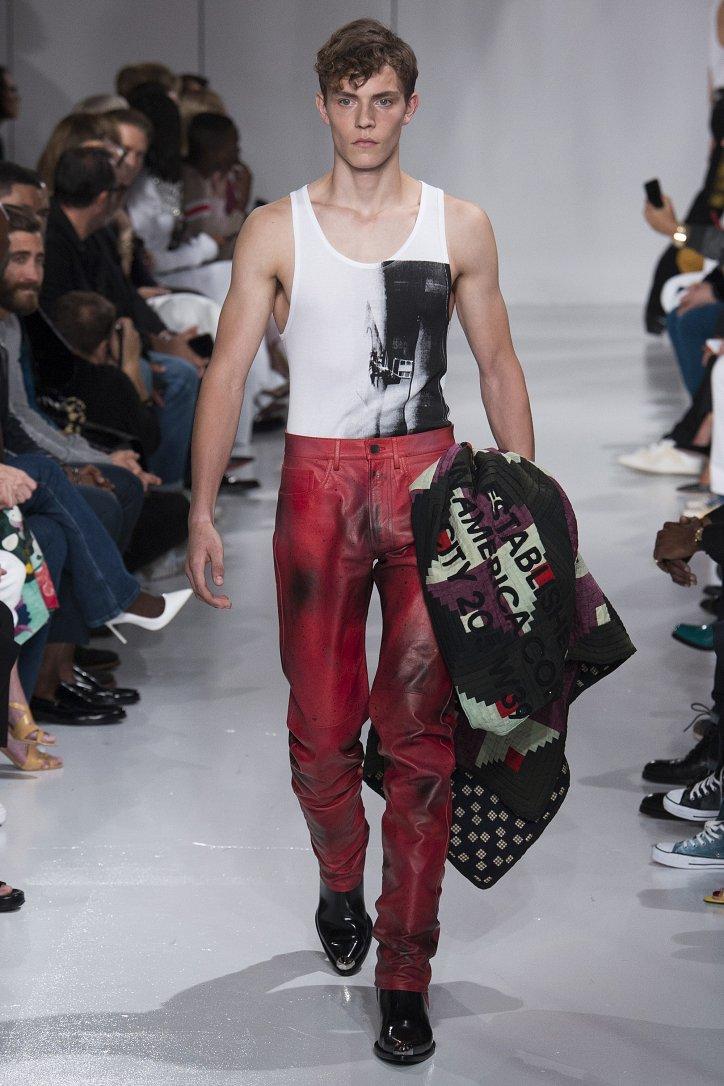 Calvin Klein весна-лето 2018 фото №24
