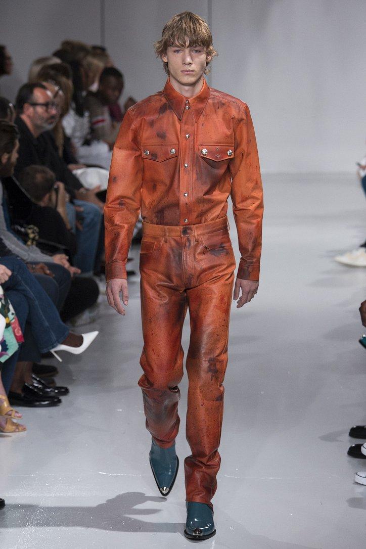 Calvin Klein весна-лето 2018 фото №25