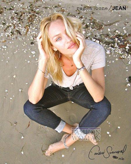 Candice Swanepoel в рекламе Rag  фото №1