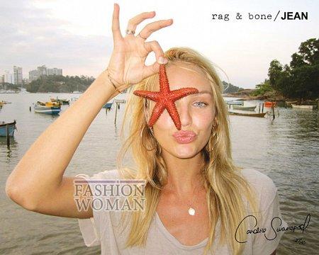 Candice Swanepoel в рекламе Rag  фото №2