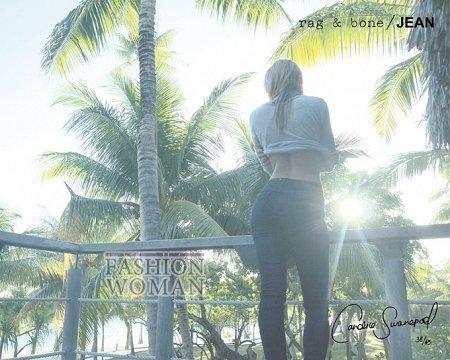 Candice Swanepoel в рекламе Rag  фото №5