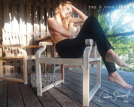 Candice Swanepoel в рекламе Rag  фото №6