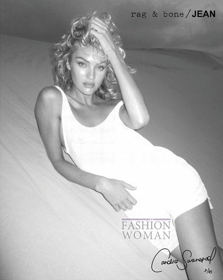 Candice Swanepoel в рекламе Rag  фото №7