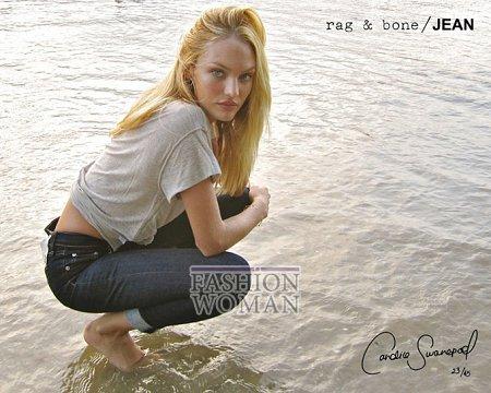 Candice Swanepoel в рекламе Rag  фото №8