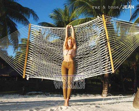 Candice Swanepoel в рекламе Rag  фото №9