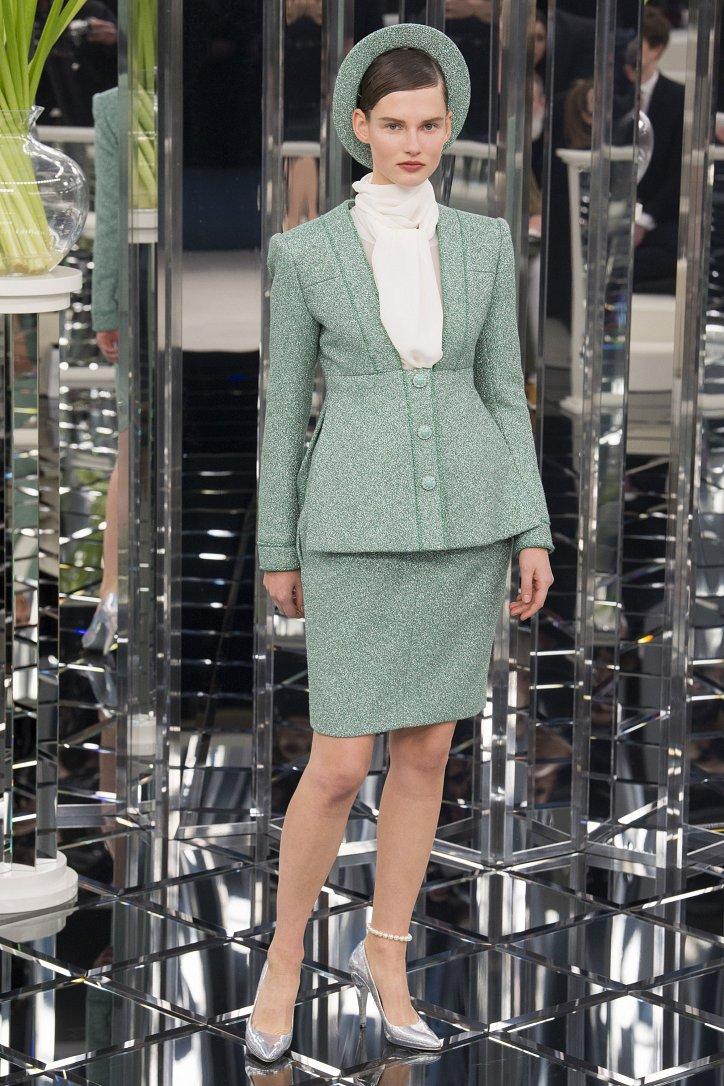 Chanel Haute Couture весна 2017 фото №8