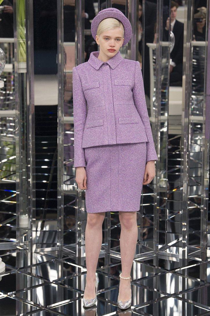 Chanel Haute Couture весна 2017 фото №9