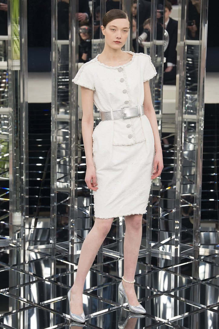 Chanel Haute Couture весна 2017 фото №17
