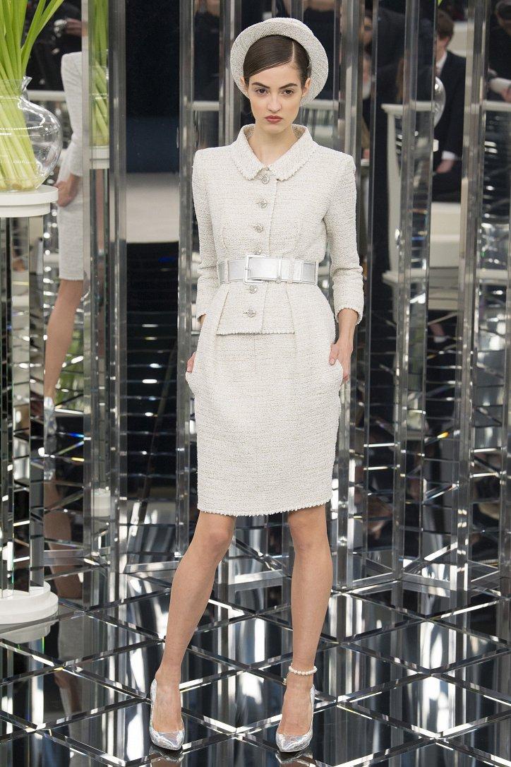 Chanel Haute Couture весна 2017 фото №18