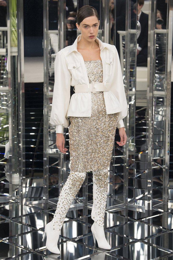 Chanel Haute Couture весна 2017 фото №25