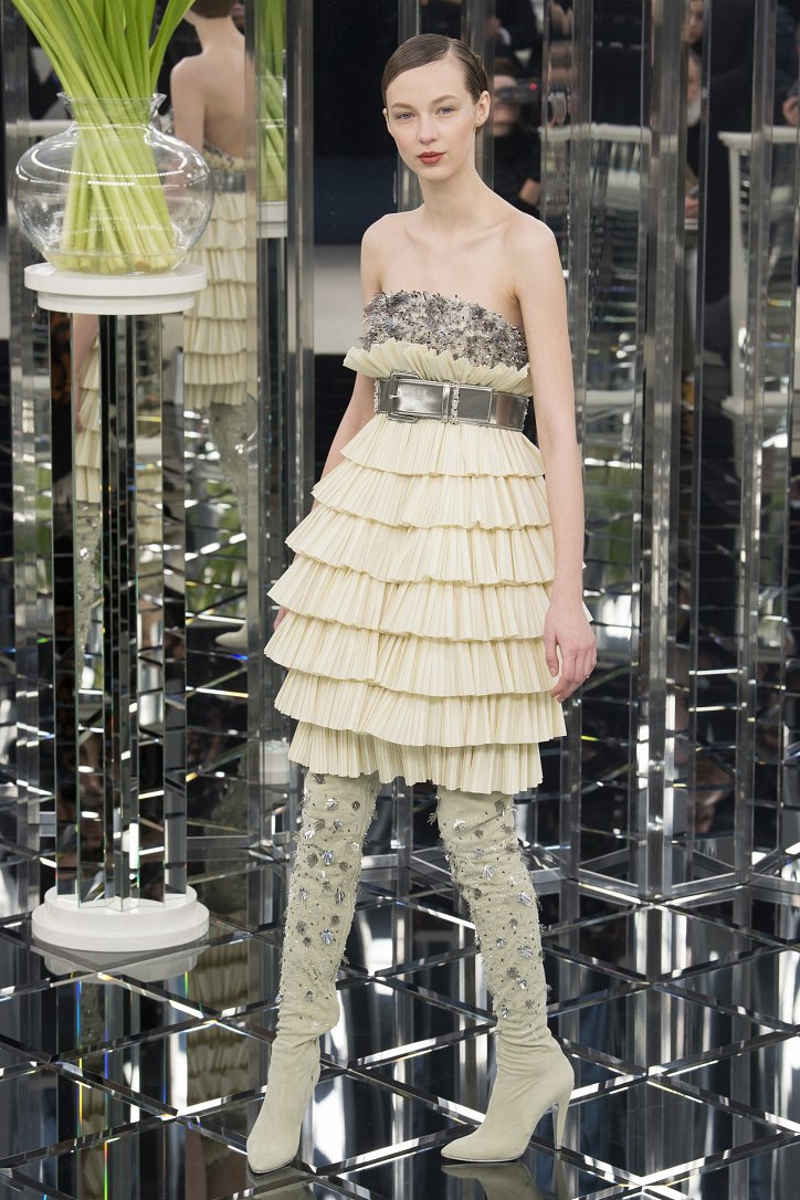 Chanel Haute Couture весна 2017 фото №32