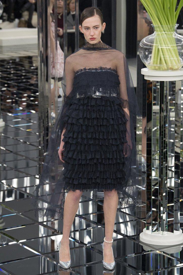 Chanel Haute Couture весна 2017 фото №34