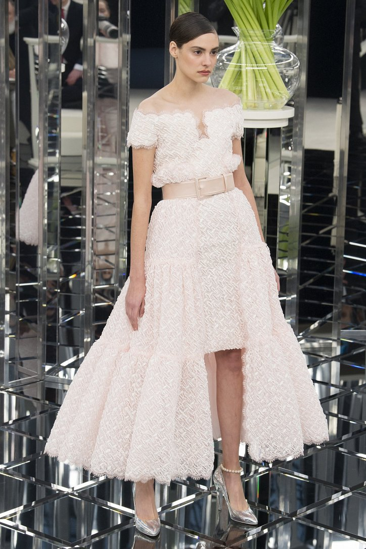 Chanel Haute Couture весна 2017 фото №36