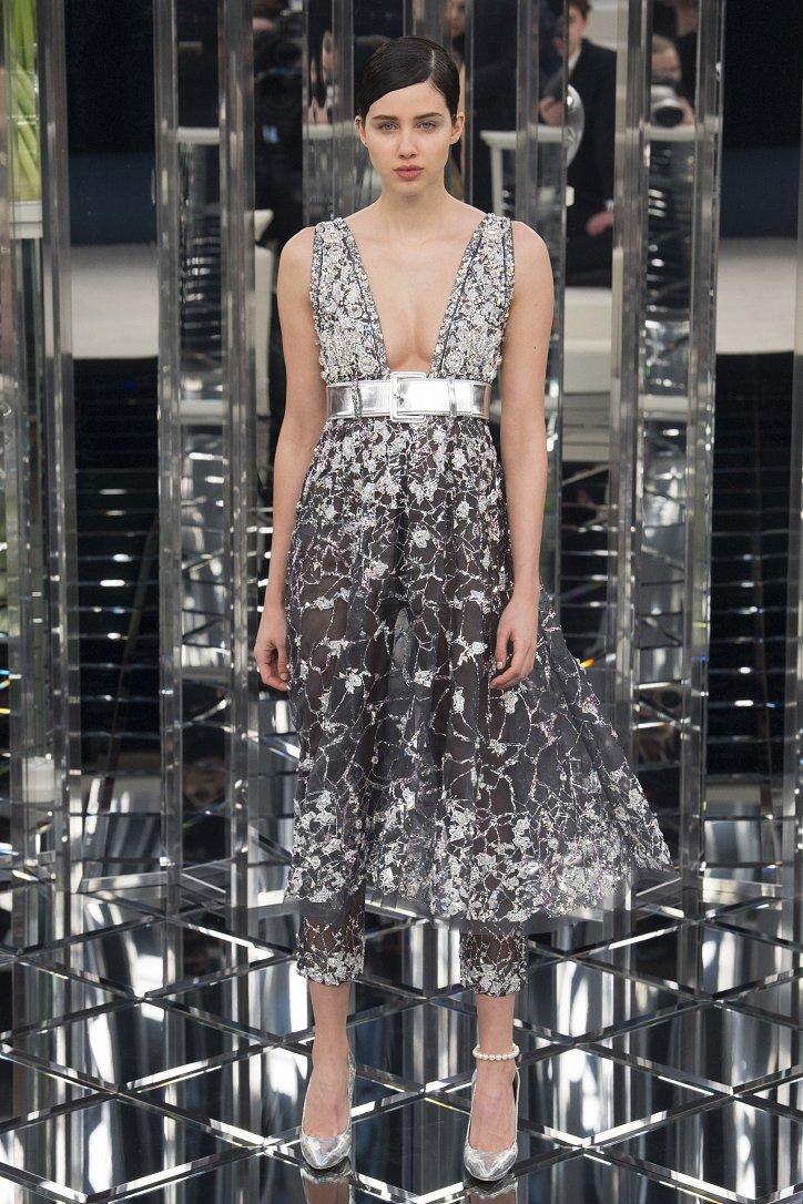 Chanel Haute Couture весна 2017 фото №38