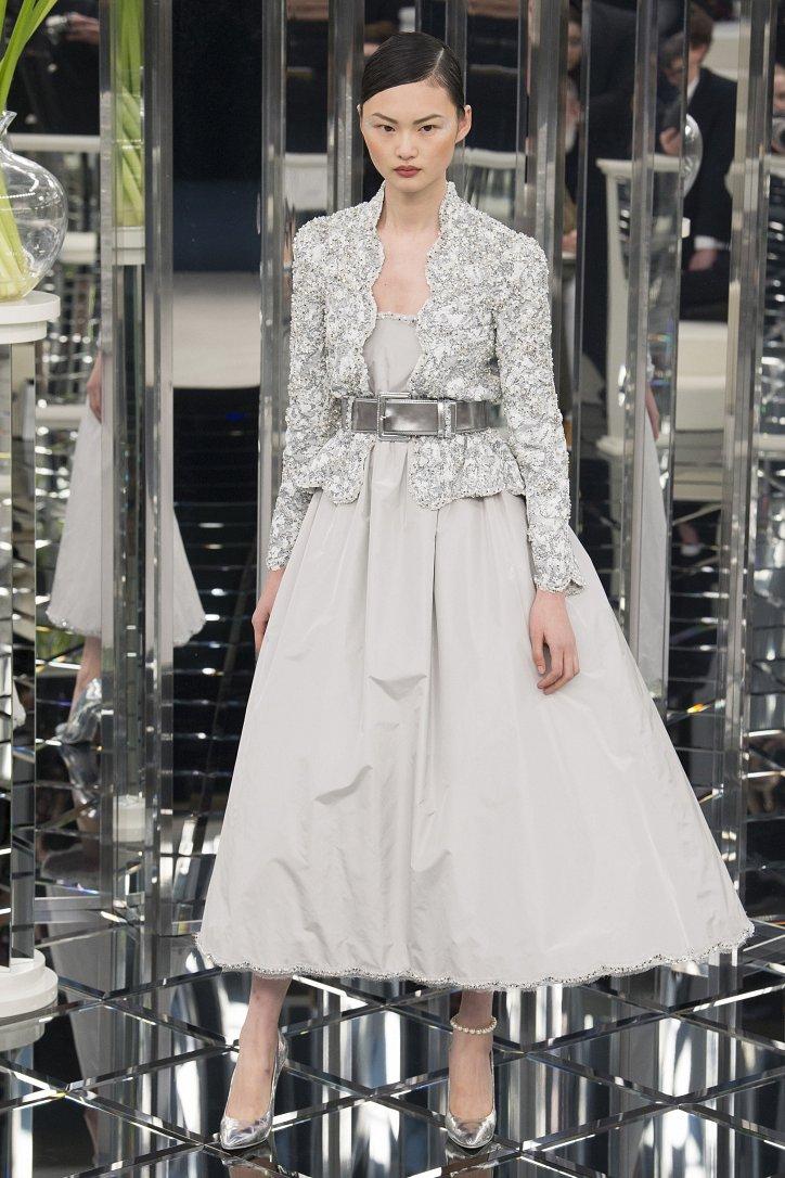 Chanel Haute Couture весна 2017 фото №40