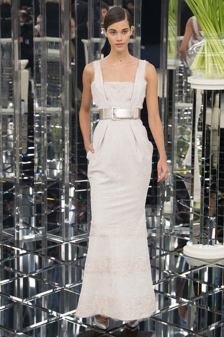 Chanel Haute Couture весна 2017 фото №42