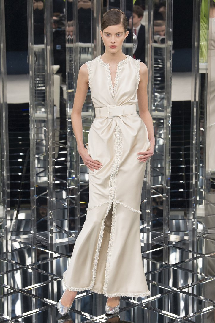Chanel Haute Couture весна 2017 фото №45