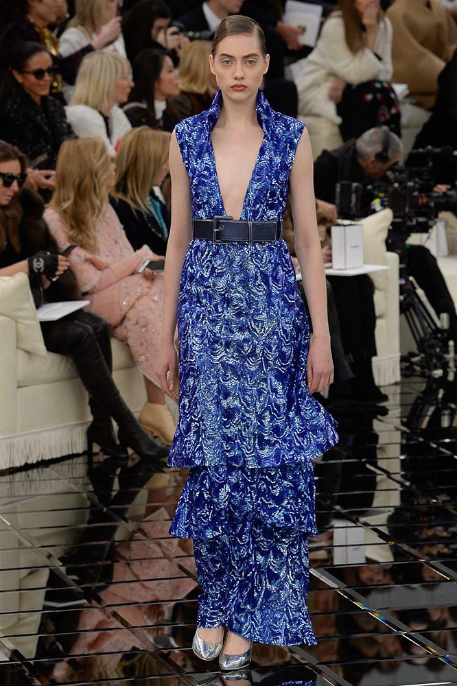 Chanel Haute Couture весна 2017 фото №47