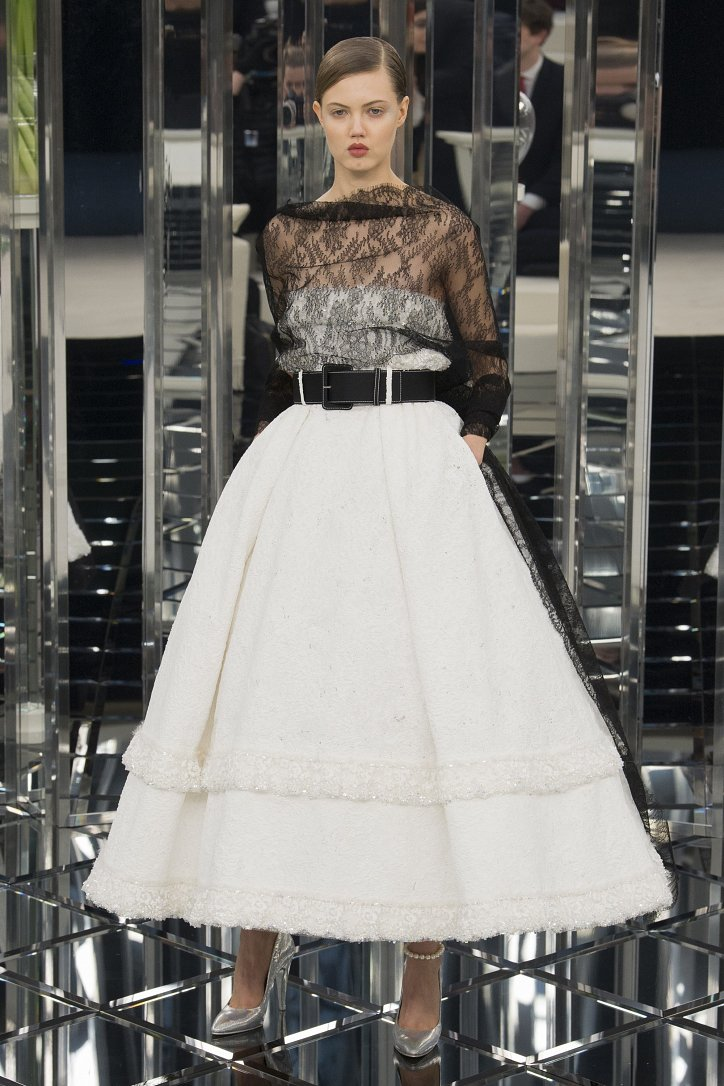 Chanel Haute Couture весна 2017 фото №49