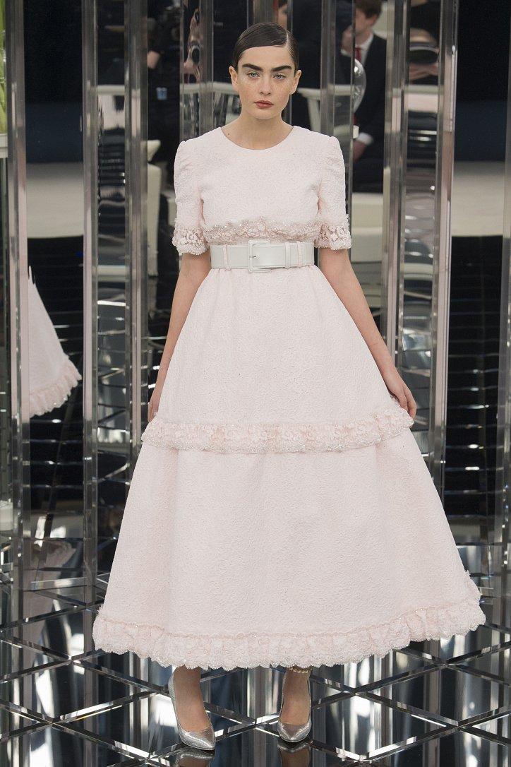 Chanel Haute Couture весна 2017 фото №50