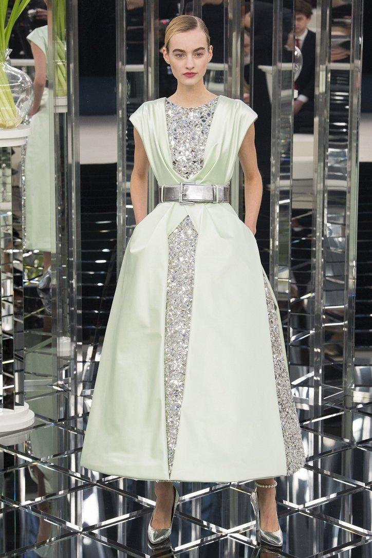 Chanel Haute Couture весна 2017 фото №51