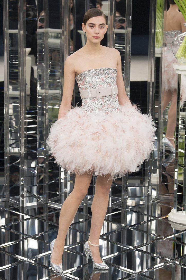 Chanel Haute Couture весна 2017 фото №55