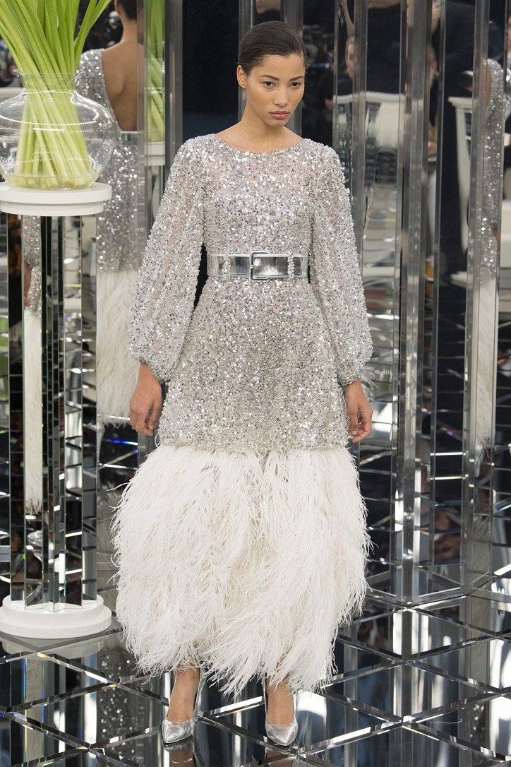 Chanel Haute Couture весна 2017 фото №56