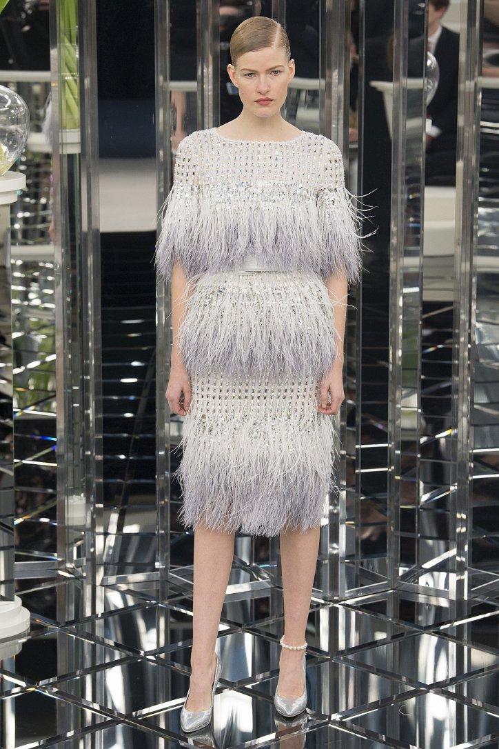 Chanel Haute Couture весна 2017 фото №58