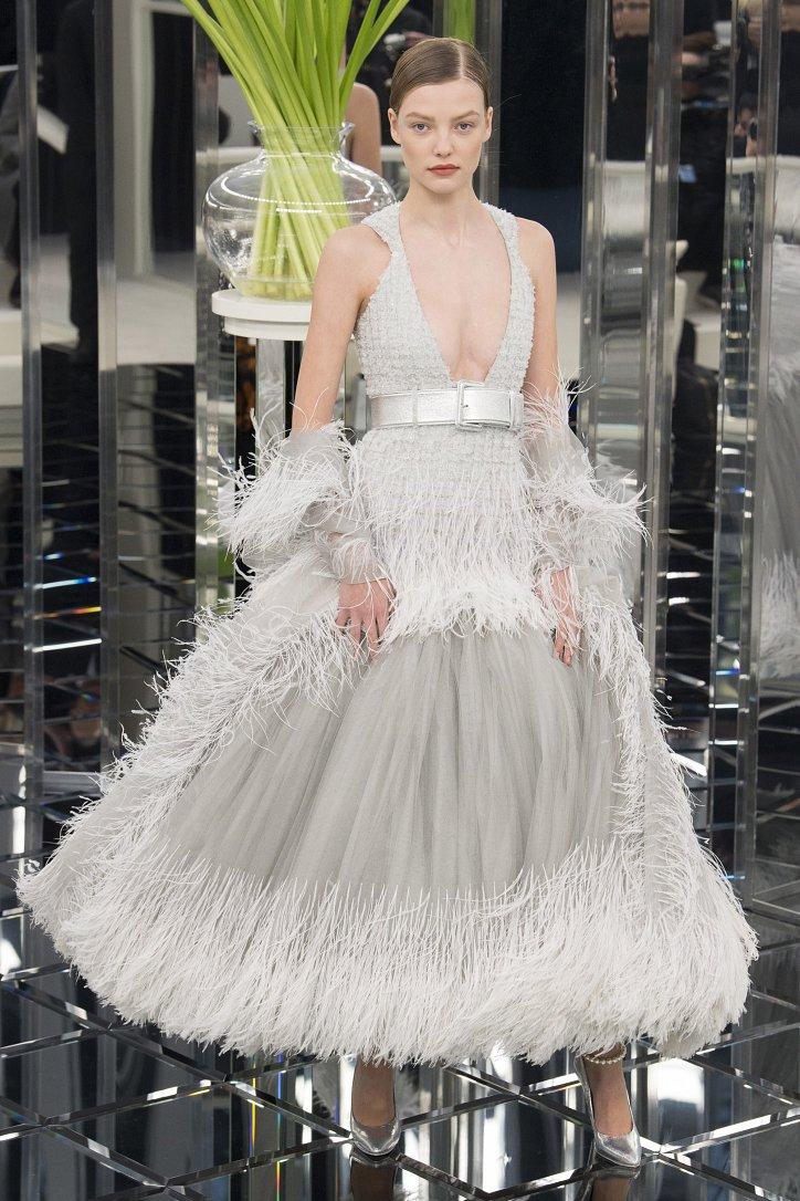 Chanel Haute Couture весна 2017 фото №59