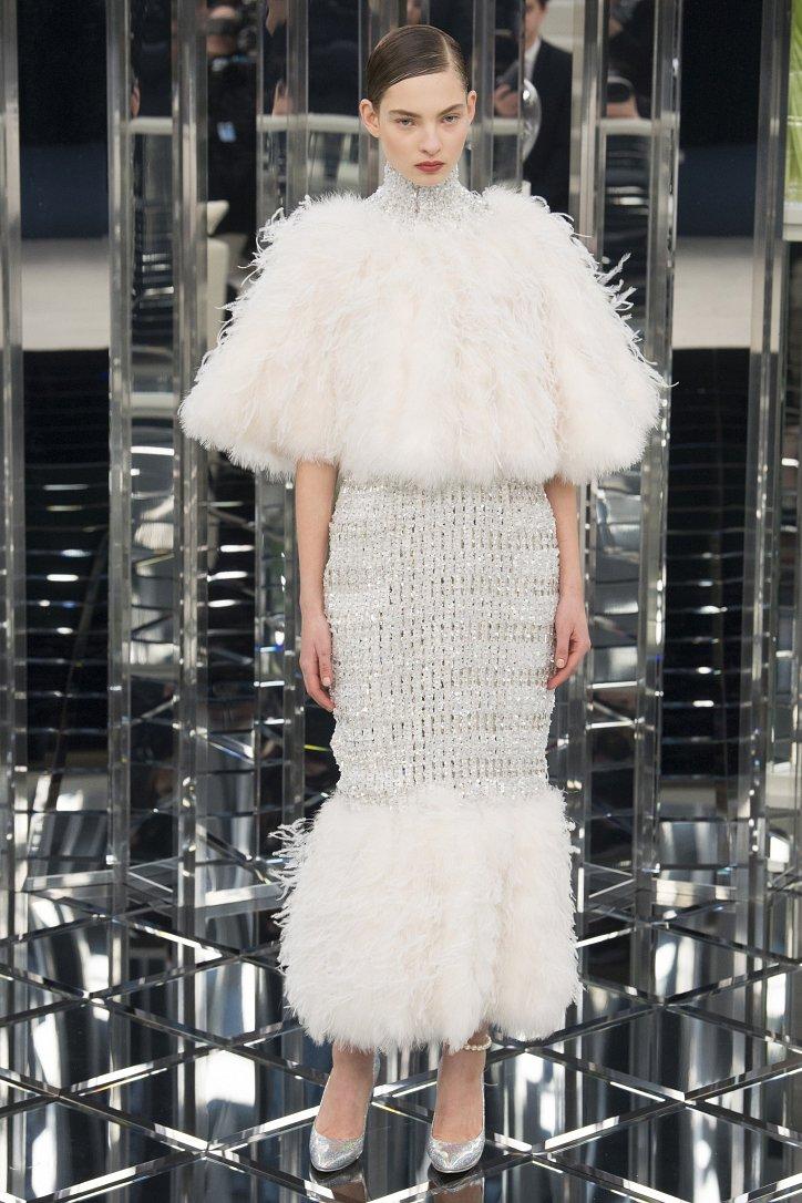 Chanel Haute Couture весна 2017 фото №60